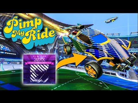 PIMP MY ROCKET LEAGUE RIDE - 20xx Black Market Decal thumbnail