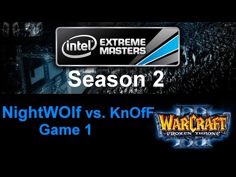 Wc3 IEM S2 - PD2 - NightWOlf vs. KnOfF - Game 1