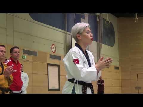 Int. Taekwondo Seminar Germany With Mustafa And Elif Yilmaz