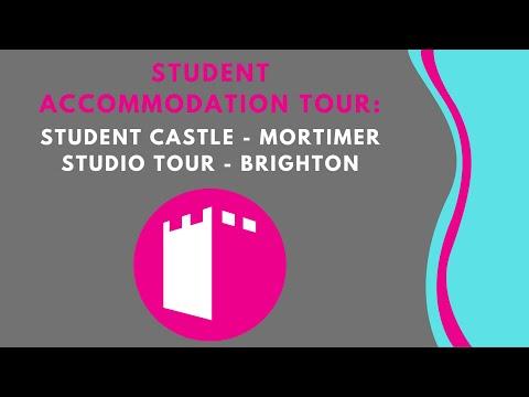 Mortimer Studio - Student Castle Brighton - Student Accommodation Room Tour