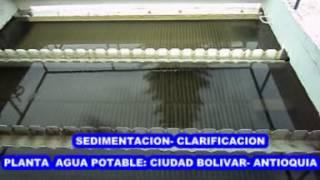PLANTA DE POTABILIZACION DE CIUDAD BOLIVAR- ANTIOQUIA