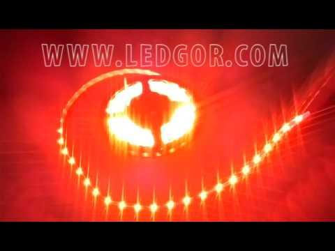 335 orange color led strip flexible side light 12v 60leds youtube 335 orange color led strip flexible side light 12v 60leds aloadofball Image collections