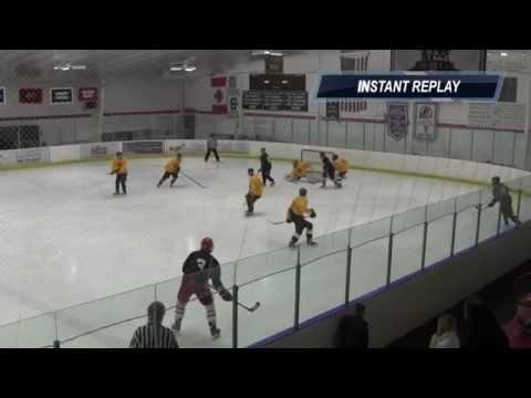 Connecticut 6, Massachusetts 3, Senior Select All-Star Hockey, April 5, 2014