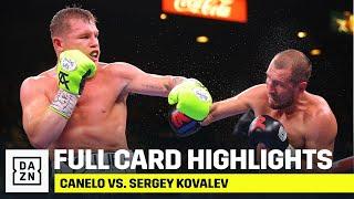 FULL CARD HIGHLIGHTS | Canelo vs. Sergey Kovalev