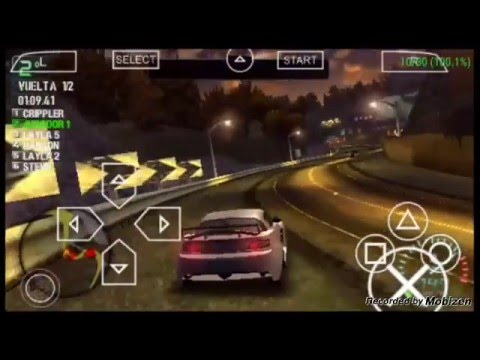 Need For Speed Carbon Ppsspp Android 100 Speed Youtube