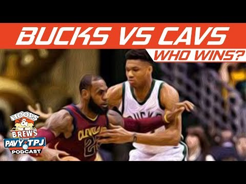 Milwaukee Bucks vs Cleveland Cavaliers, Who will win ? | Hoops N Brews