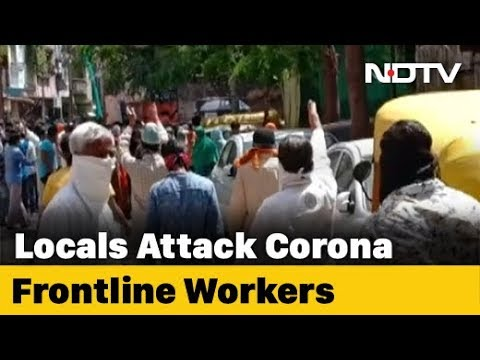 On Camera, COVID-19 Health Staff Attacked, Chased Away In Madhya Pradesh's Indore