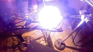 Сварка чугуна с помощью...(Газовая горелка - https://www.youtube.com/watch?v=29H7dc3-61E., 2016-10-09T09:49:44.000Z)