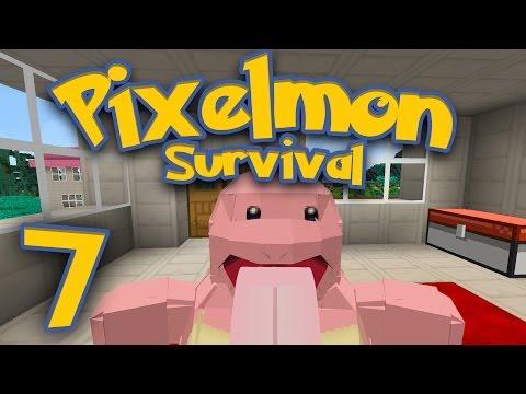 Pixelmon Survival [Part 7] - To Faint on Accident