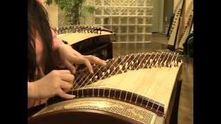 """古筝 """"月琴"""" Guzheng Solo """"Moon Lute"""" - Sound of China Guzheng Basic Tutorial"""