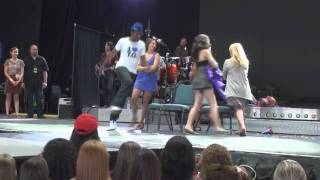 Jonas Brothers Sound Check Hartford Ct  8-13-2010 Musical Chairs