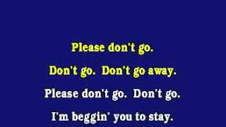 JV1003 10 KWS Please Don't Go [karaoke]