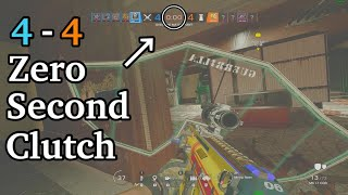 4-4 Zero Second Clutch - Rainbow Six Siege