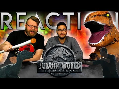 Download Youtube: Jurassic World: Fallen Kingdom - Official Trailer REACTION!!