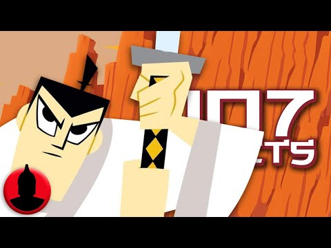 107 Samurai Jack Facts YOU Should Know Feat. Saberspark (Tooned Up #251)   @ChannelFrederator