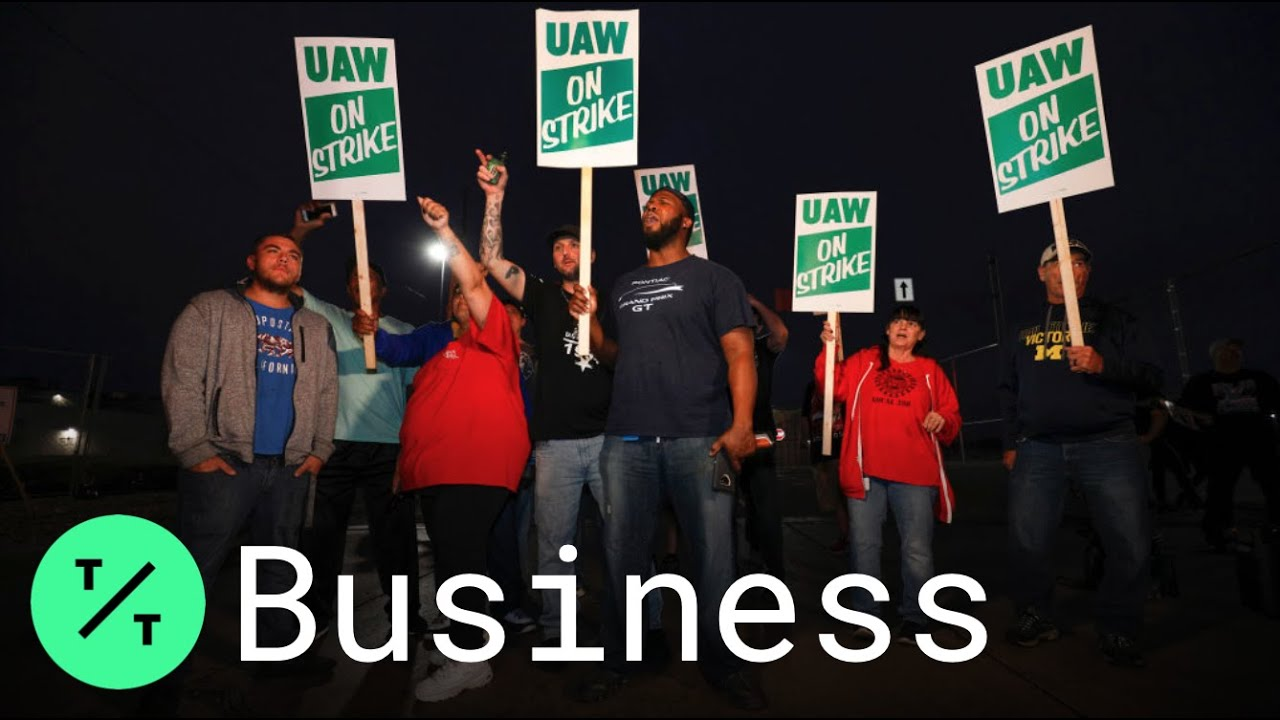 GM-UAW strike: Day 2