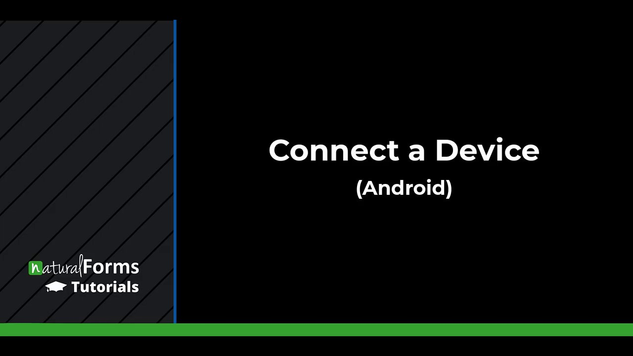 Connect Device (Android)