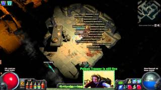 Path of Exile - ALPHA. How to get trolled by a Darkshrine