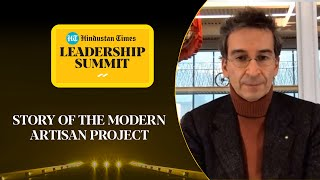 Federico Marchetti speaks on his project with Prince Charles #HTLS2020