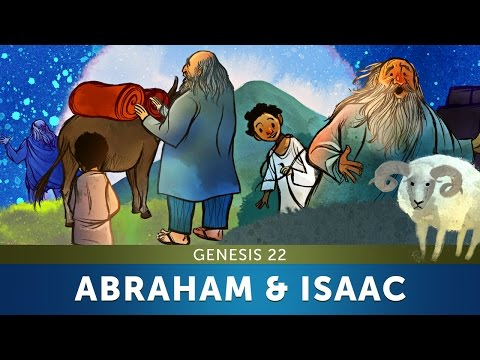 Sunday School Lesson - Abraham and Isaac - Genesis 22 - Bible Teaching Stories for Christianity