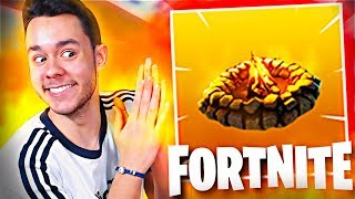*NUEVA* FOGATA en Fortnite: Battle Royale! - TheGrefg
