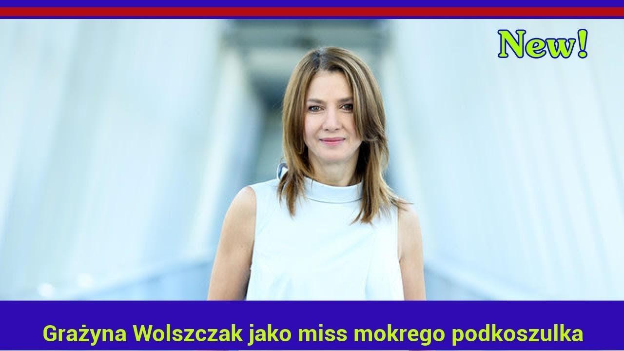 Grażyna Wolszczak jako miss mokrego podkoszulka