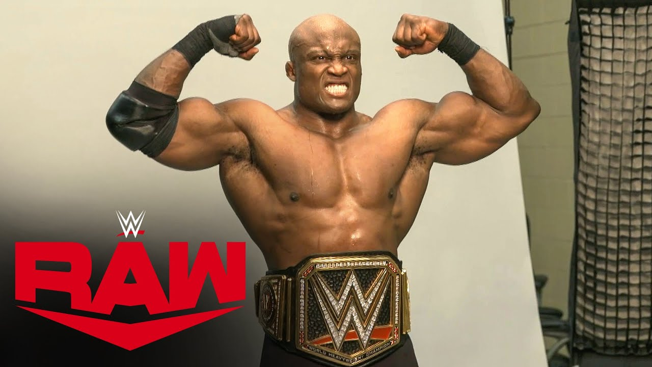 The Hurt Business Celebrates Bobby Lashley's WWE Title Win