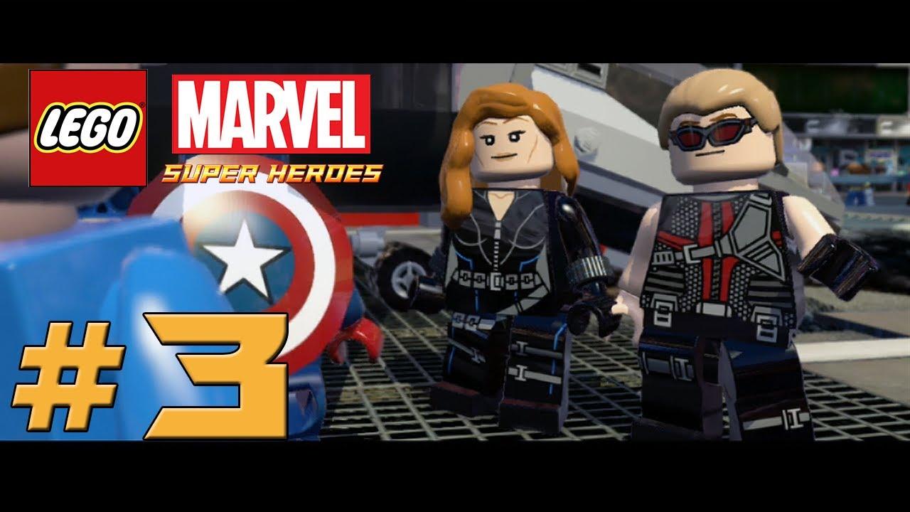 LEGO Marvel Super Heroes - Прохождение: Эпизод 3