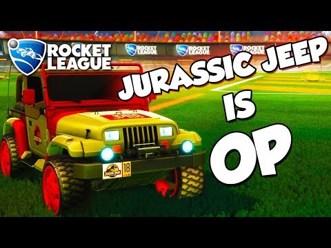 Jurassic Jeep is OP | Rocket League Montage
