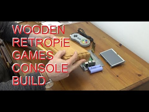 DuB-EnG: #DubiousEngineering DIY Wooden Handheld Games Console bullet buttons PT2 - Routing case