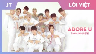 【Karaoke Việt + Audio】 Adore U - SEVENTEEN (세븐틴)【HAPPY 5 YEA…