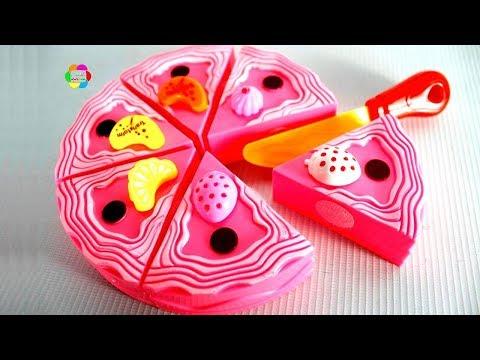 لعبة ايس كريم الفراولة للاطفال اجمل العاب الطبخ للبنات والاولاد والعاب تأكيل العرائس ice cream toy