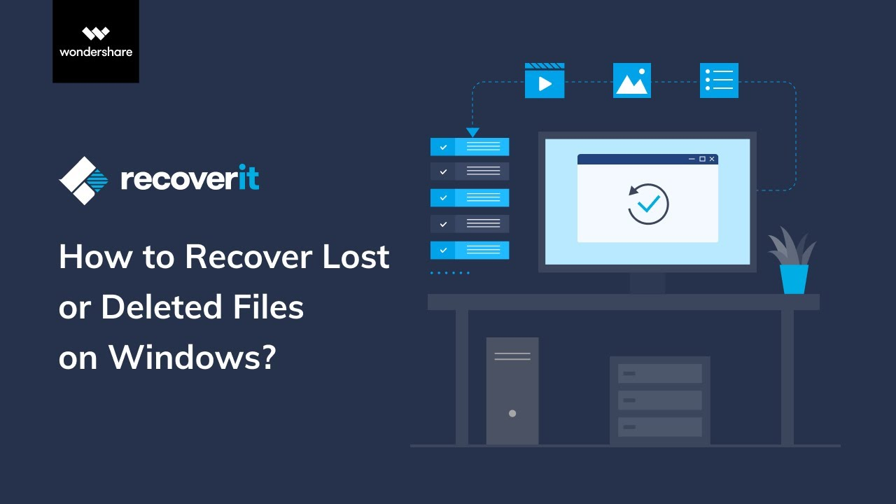 How to Recover Lost or Deleted Data on Windows | Recoverit 8.5 Tutorial -  YouTube
