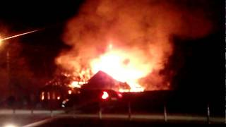 Пожар в Дедовске