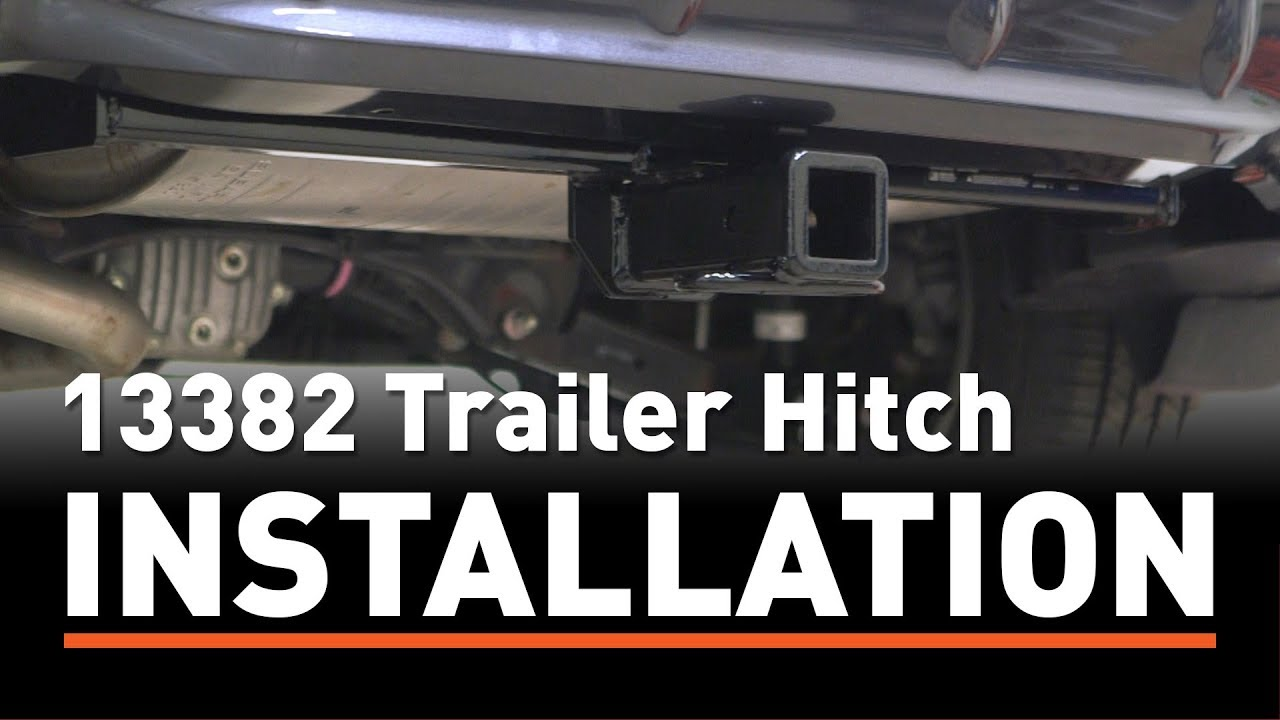 Tow Hitch Installation >> Trailer Hitch Install Curt 13382 On A Subaru Crosstrek