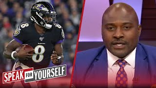 Marcellus Wiley isn't worried about Lamar Jackson's durability long-term   NFL   SPEAK FOR YOURSELF