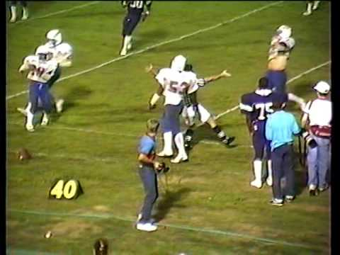 JC vs Strong, football 1987: 2nd quarter