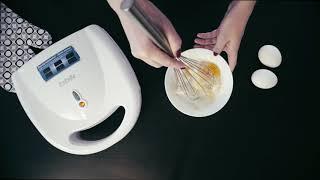 Омлет в сэндвичнице (вафельнице) BBK ES027