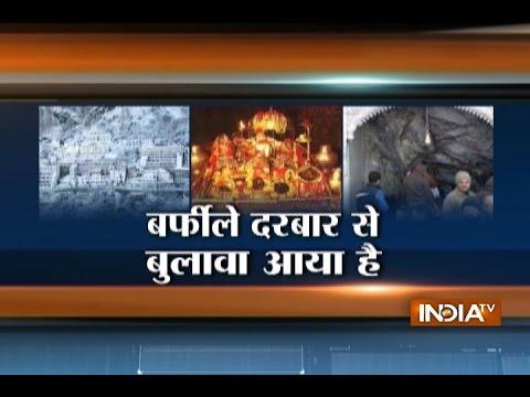 Mata Vaishno Devi Receives Heavy Snowfall