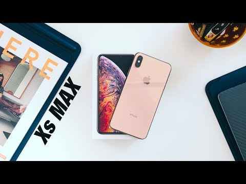 IPhone XS Max Unboxing + Hands On!