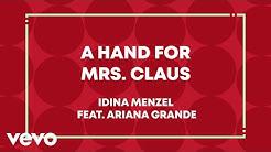 Idina Menzel, Ariana Grande - A Hand For Mrs. Claus (Lyric Video)