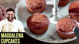Magdalena Cupcakes - Spanish Lemon Cupcakes