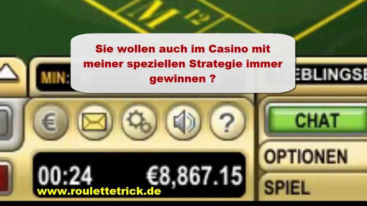 Roulette Immer Verdoppeln