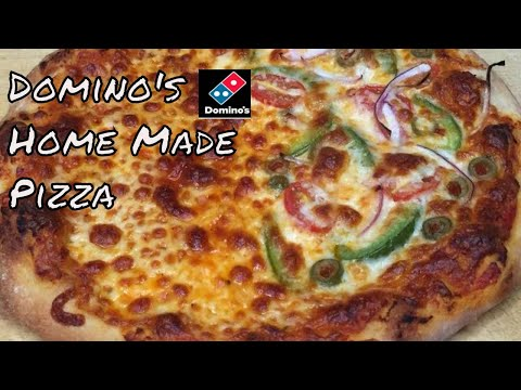 Dominos Style Pizza | How To Make Pizza At Home