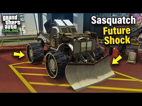 Bravado Future Shock Sasquatch Customization & Price - GTA 5 Online: ARENA WAR DLC