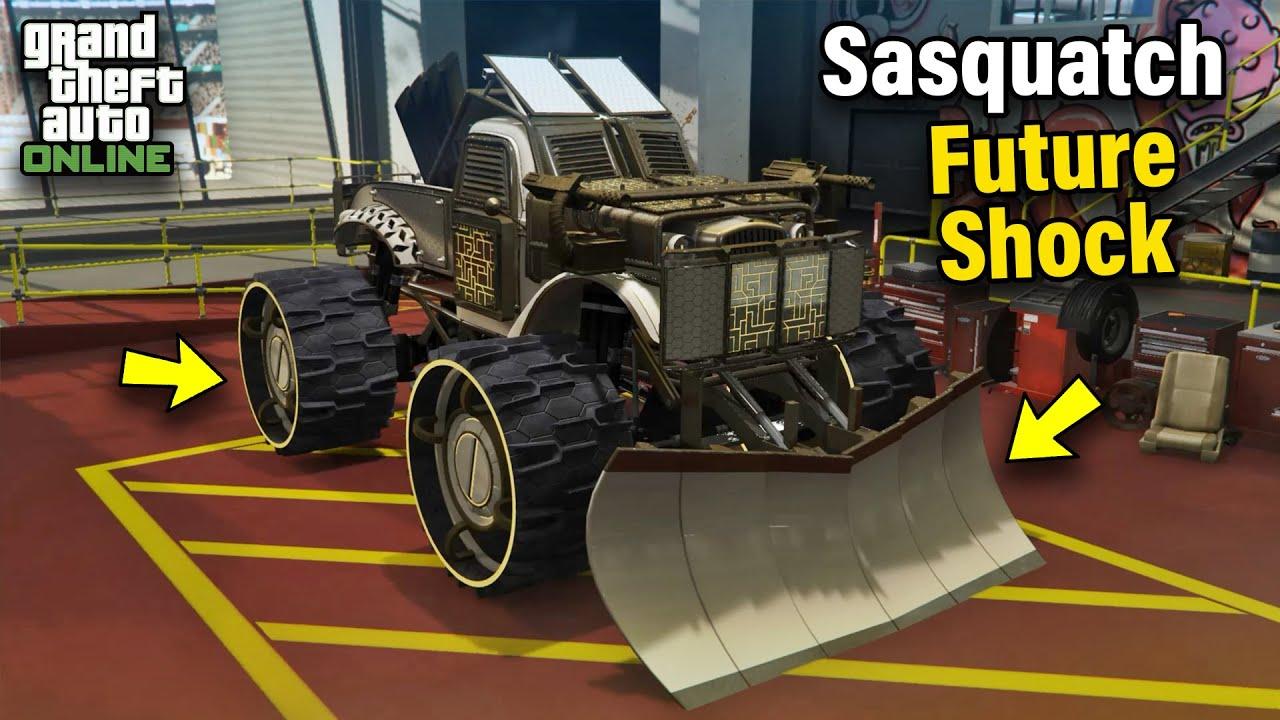 Bravado Future Shock Sasquatch Customization & Price - GTA 5 Online: ARENA WAR DLC #1