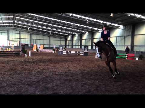 Sharpe Jumping Charlie-Horse June 2013