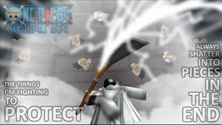 Roblox: One Piece Golden Age fighting the marines!! part 2