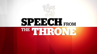 CBC News Presents - Throne Speech Special
