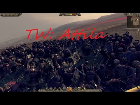 "[13] Total War Attila Lakhmid ""Setting up for the main event!"" 